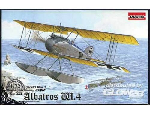 Roden Albatros W.IV (late) 1:72 (034)