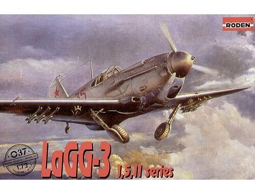 Roden LaGG-3 series 1,5,11 1:72 (037)
