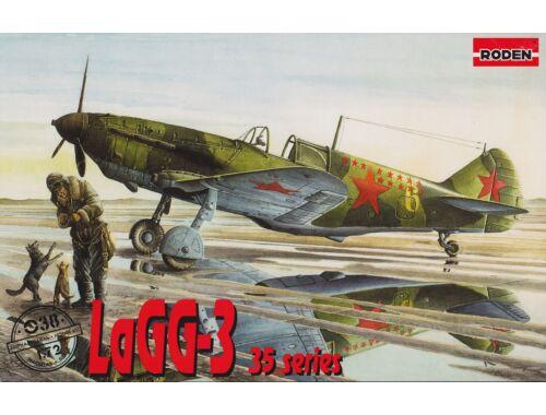 Roden LaGG-3 series 35 1:72 (038)