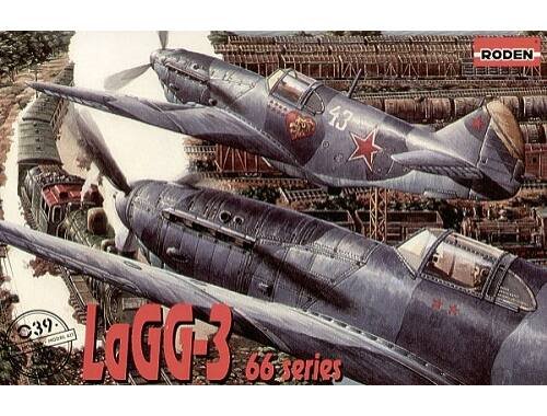 Roden LaGG-3 series 66 1:72 (039)
