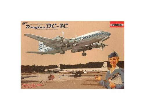 Roden DC-7C Pan American World Airways 1:144 (301)