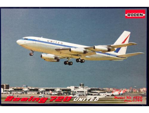 Roden Boeing 720 United 1:144 (320)