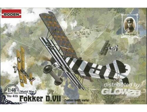 Roden Fokker D.VII (early) 1:48 (415)