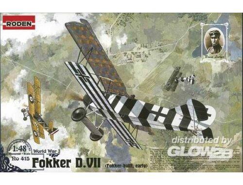 Roden Fokker D.VII (early) 1:48 (415)