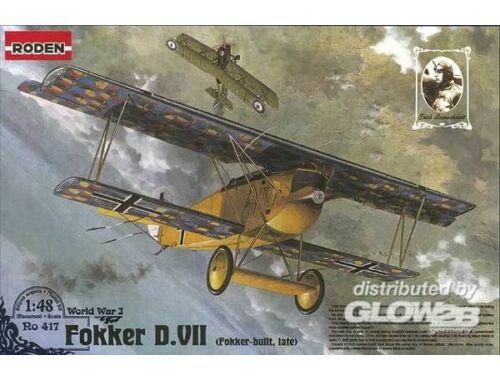 Roden Fokker D.VII F (late) 1:48 (417)