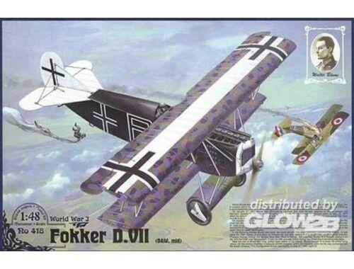 Roden Fokker D.VII ( OAW) ''Walter Blume'' 1:48 (418)