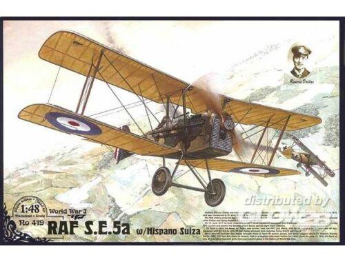 Roden RAF S.E.5a w/ Hispano Suiza 1:48 (419)