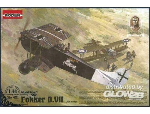 Roden Fokker D.VII (Albatros built, early) Carl Degelow 1:48 (421)
