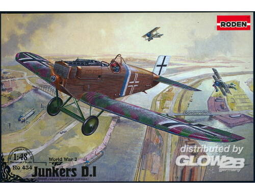 Roden Junkers D.I late 1:48 (434)