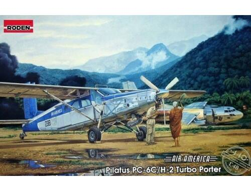 Roden Pilatus PC-6C/H-2 Turbo-Porter 1:48 (440)