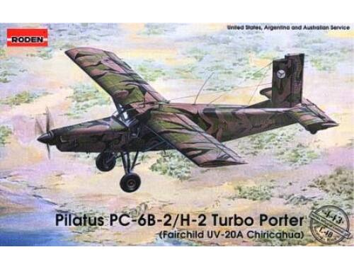 Roden Pilatus PC-6B-2/H-2 Turbo-Porter 1:48 (443)