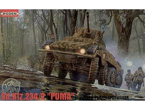 Roden Schwerer Panzerspähwagen Sd.Kfz. 234/2 Puma 1:72 (705)