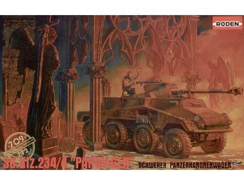 Roden Sd.Kfz 234/4 ''Pakwagen'' 1:72 (709)