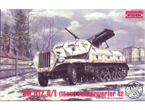 Roden Sd.Kfz. 4/1 Panzerwerfer 42 (early) 1:72 (712)