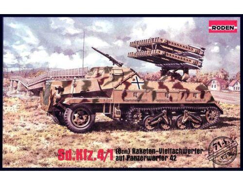 Roden Sd.Kfz. 4/1 Panzerwerfer 42 (late) 1:72 (714)