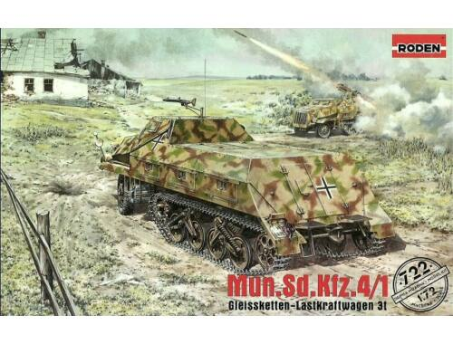 Roden Munitionskraftwagen f/ Nebelw. Sd.Kfz.w 1:72 (722)