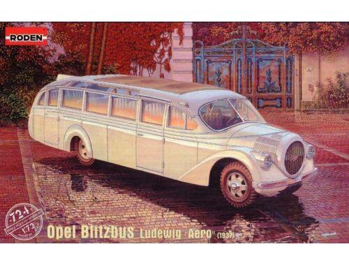"Roden Opel Blitzbus Ludewig ""Aero"" (1937) 1:72 (724)"