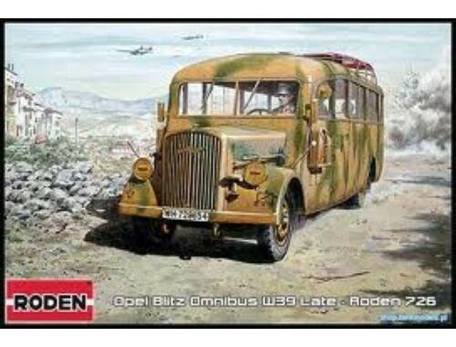 Roden Opel Blitz Omnibus W39 (Late WWII serv.) 1:72 (726)
