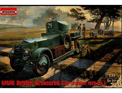 Roden WWII British Armoured Car Pattern 1920 Mk.I 1:35 (801)