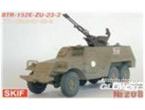 Skif BTR-152E with ZU-23-2 1:35 (208)
