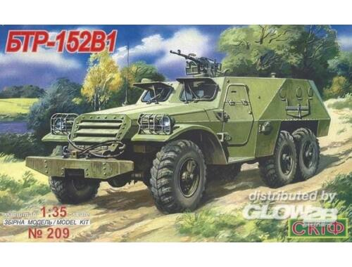 Skif BTR 152 V 1 Armoured Troop Carrier 1:35 (209)