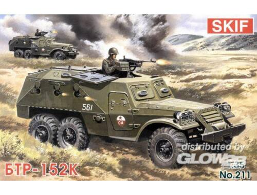 Skif BTR 152 K Field Ambulance 1:35 (211)