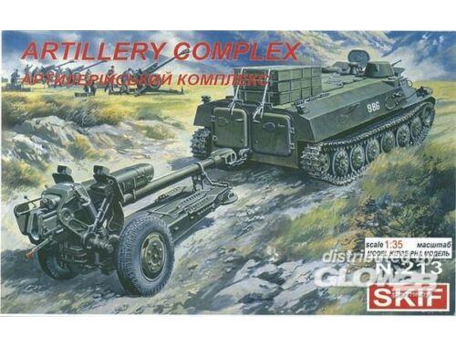 Skif Artillery Complex MT-LB   D-30 1:35 (213)