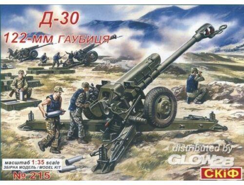Skif D 30 122mm Howitzer 1:35 (215)