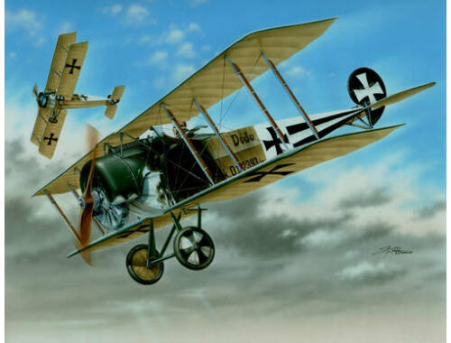 Special Hobby Fokker D.II 'Black   White Tails' 1:48 (48038)