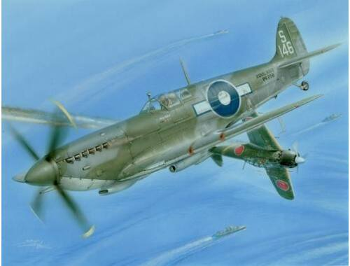 """Special Hobby Supermarine Seafire Mk. III""""Last Fights Over Pacific"""" 1:48 (48052)"""