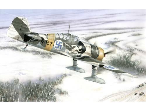 Special Hobby Fokker D.XXI 4. Sarja with Wasp Junior Engine 1:48 (48073)