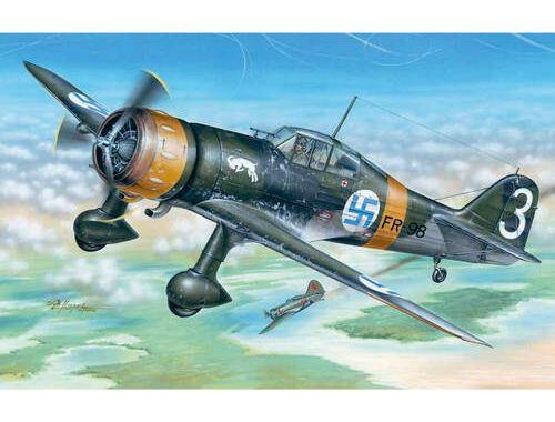 Special Hobby Fokker D.XXI 3. Sarja with Mercury engine 1:48 (48078)