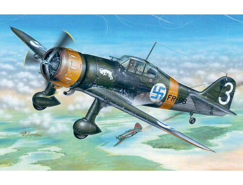 Special Hobby Fokker D.XXI 3. Sarja with Mercury engine 1:48 (48078)
