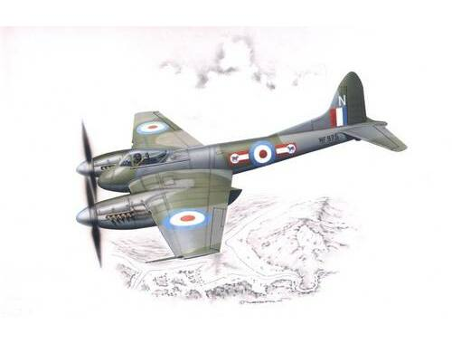 Special Hobby De Havilland DH. 103 Hornet F. MK. 3/4 1:72 (72054)
