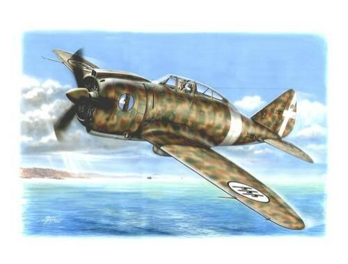 Special Hobby Regianne Re 2000 Buble Canopy 1:72 (72079)