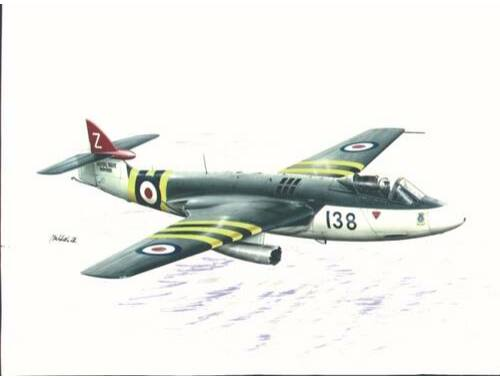 Special Hobby Hawker Sea Hawk FB Mk.3/FGA Mk.50 with AIM9 1:72 (72080)