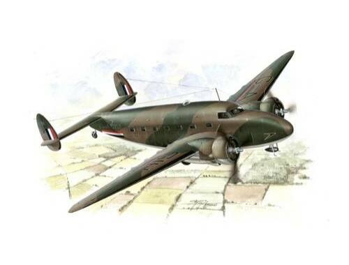 Special Hobby C-60 Lodestar in British and Norwegian Service 1:72 (72112)