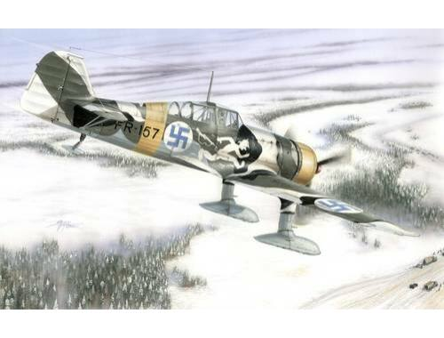 Special Hobby Fokker D.XXI 4 sarja Wing with slots 1:72 (72116)