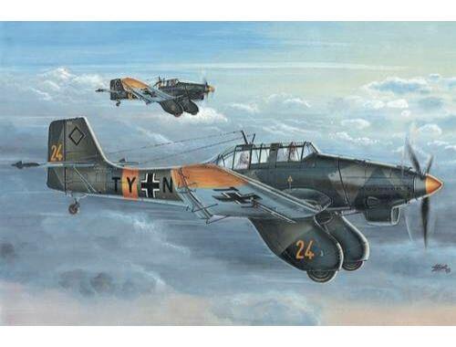 Special Hobby Junkers Ju 87A Stuka Anton in Luftwaffe service 1:72 (72136)