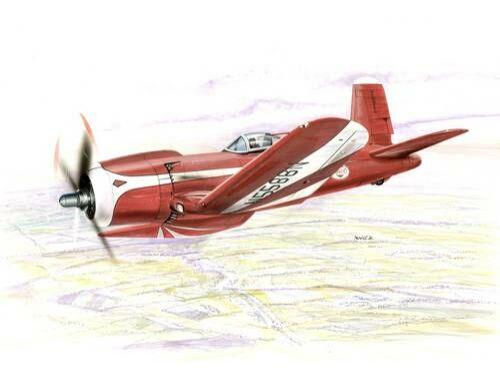 Special Hobby F2G Super Corsair Racer Plane 1:72 (72166)