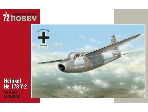Special Hobby Heinkel He 178 V-2 -Re-issue 1:72 (72192)