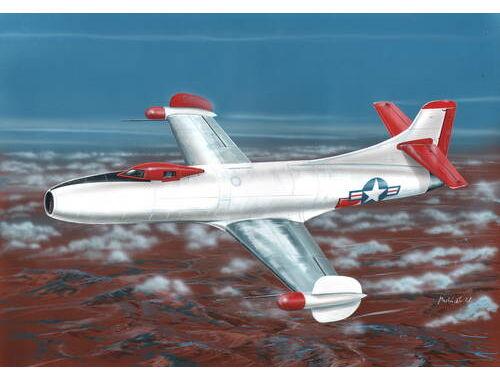 """Special Hobby D-558-I Skystreak """"NACA"""" 1:72 (72214)"""