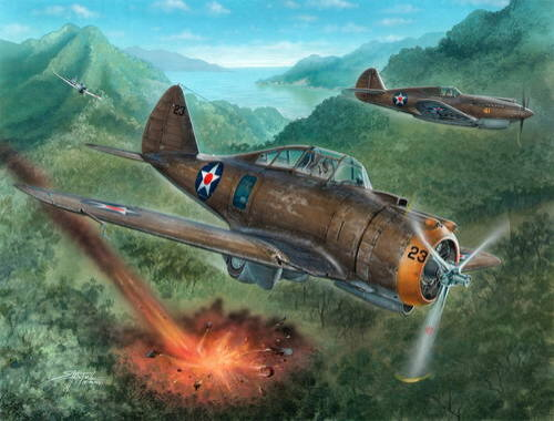 """Special Hobby P-35A """"Philippines Defender 1:72 (72237)"""