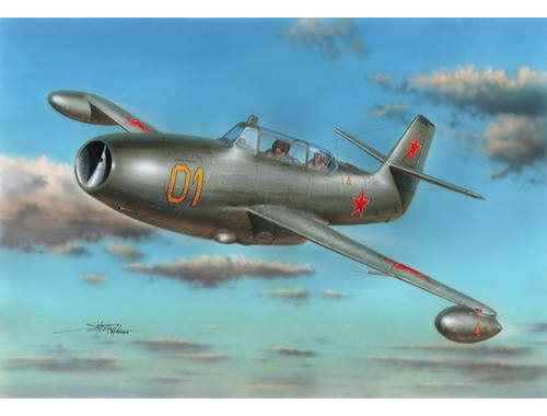 Special Hobby Yakovlev Yak-23 Flora Two-Seater 1:72 (72245)