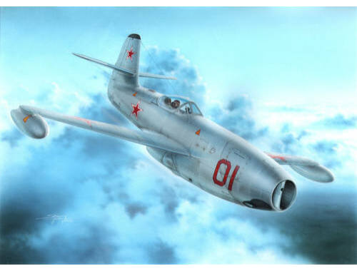 "Special Hobby Yakowlev Yak-23 Flora ""Red White Stars"" 1:72 (72248)"