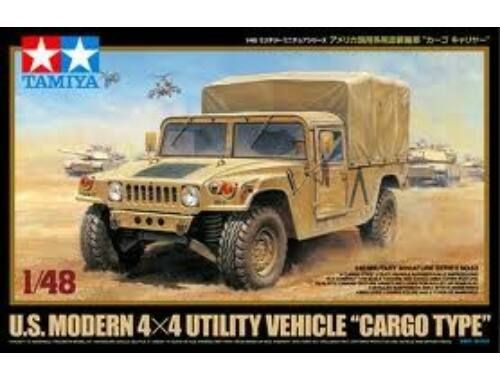 Tamiya US Modern 4x4 Vehicle Cargo 1:48 (32563)