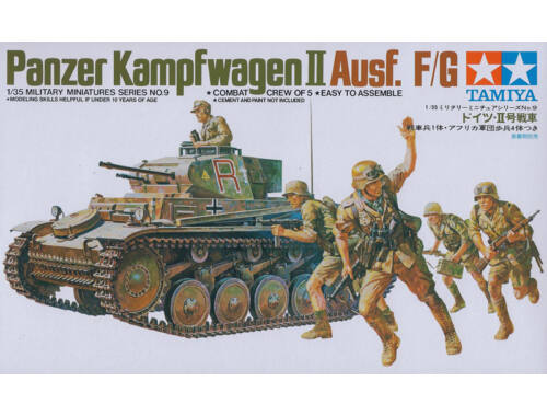 Tamiya PzKpfw. II Ausf.F/G SK.121 1:35 (35009)