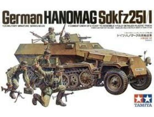 Tamiya WWII Sdkfz.251/1 Halft. Hanomag 1:35 (35020)