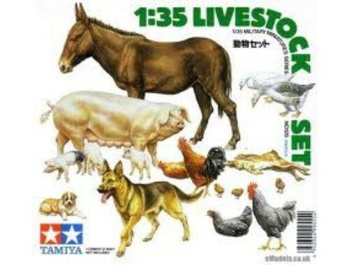Tamiya Diorama-Set Livestock 1:35 (35128)