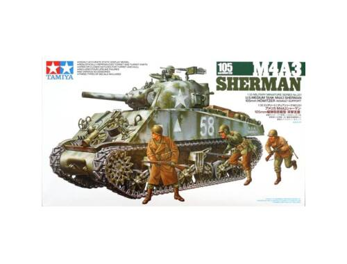 Tamiya Sherman 105mm 1:35 (35251)